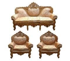 wooden sofa set for living room