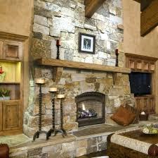 timber mantels starting stacked stone fireplace mantel