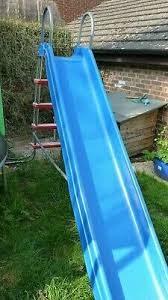large tp childrens plastic garden slide 3 metre length