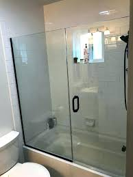 sliding bathtub doors over tub shower door patriot glasirror ca bathtub glass door install