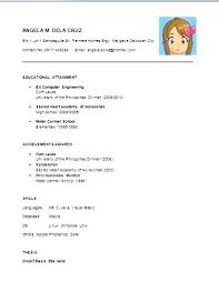 resume simple example basic job resume template a simple example shalomhouse us
