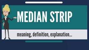 What Is Median Strip What Does Median Strip Mean Median Strip