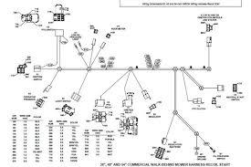 ignition wiring harness for john deere stx38 john deere wiring john deere la145 electrical schematic at John Deere 100 Series Wiring Diagram