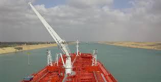 Ein frachter ist auf grund gelaufen. Segeln Revierinformation Agypten Suezkanal