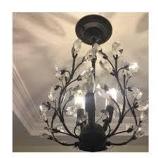 american small chandelier balcony corridor hallway retro staircase cry