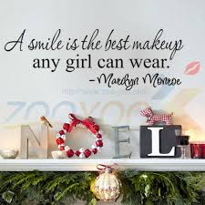 Small Picture Aliexpresscom Buy A Smile Is The Best Makeup Letter Wall
