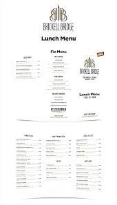 Indesign Menu Template In Design Menu Template Restaurant Menu