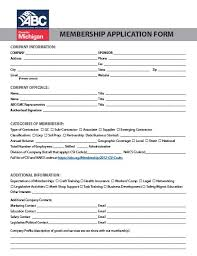 Application For Membership Associated Builders And Contractors Greater Michigan