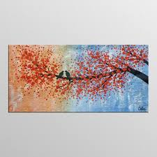 love bird canvas wall art