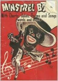 Belmont Charts Minstrel Book With Charts Jokes Poems And Songs Words