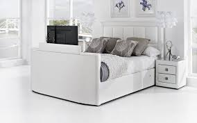 Azure Leather TV Bed. Product options: