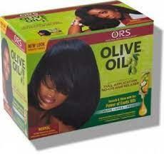 ors olive oil no lye hair relaxer kit