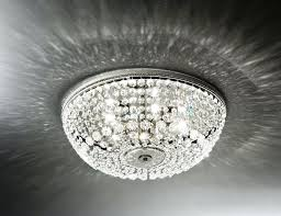 flush mount ceiling light fixtures lighting design ideas crystal flush mount ceiling light crystal intended for flush mount