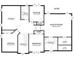 Layout For 4 Bedroom House - Home Design