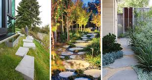 using stepping stones in your garden
