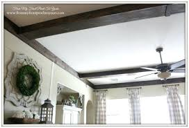 faux ceiling beams wooden rafter wood beam designs painted white ceil