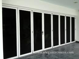 bi fold security door screen