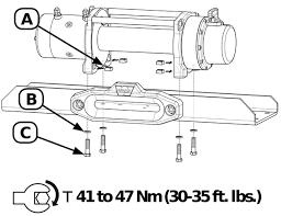 the warn m8000 and m8 winch buyer's guide roundforge warn m8000 winch wiring diagram warn m8000 foot down winch installation