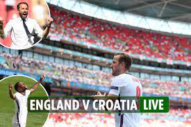 England 1 Croatia 0 LIVE REACTION ...
