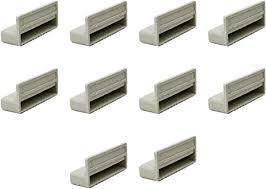 Lo dimostra il modello line della linea di porte basculanti steel, che propone doghe di passo 280 (250+30 mm). Supporti Per Doghe Letto Singolo In Struttura Di Legno 63 Mm Confezione Da 10 Amazon It Casa E Cucina