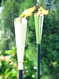 oil torches outdoor oil torches citronella outdoor oil lamp torches oil burning torches citronella oil for tiki torches