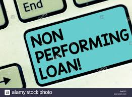 Word Writing Text Non Performing Loan Business Concept For