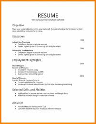 How To Make Resume Template Part 159 Resume Template For High School Students