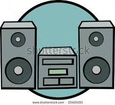 sound system clipart. stereo system clipart sound t