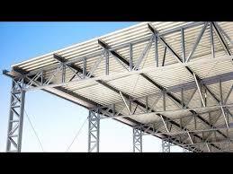 O galpão metálico tem um processo de fundação simplificado. Portfolio Estrutura Metalica Galpao Industrial 72 Youtube Galpoes Industriais Estrutura Metalica Estrutura De Aco