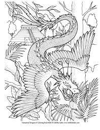 Small Picture Quetzalcoatl Coloring Page by TabLynn on deviantART The Kid in