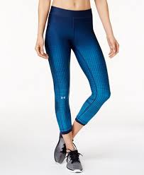 under armour leggings. under armour printed compression ankle leggings