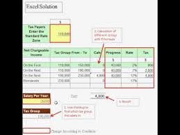 salary range calculator excel solution how to calculate progress rate of salary tax