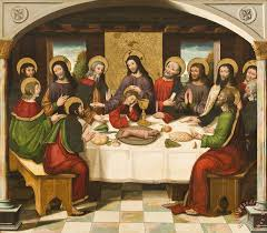 the last supper painting master of portillo the last supper art print
