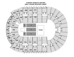 Seating Chart Dunkin Donuts Center