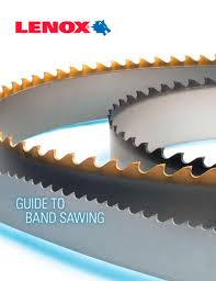 Lenox Band Saw Blade Chart Lenox Guide To Band Sawing Lenox Pdf Catalogs