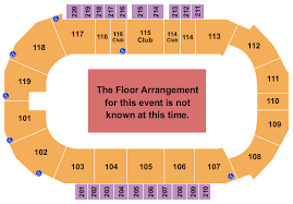 Showare Center Seating Chart Kent