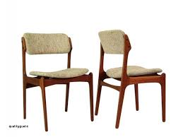 vinyl padded chairs unique danish mid century teak dining chairs od 49 by erik buck for