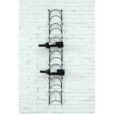 iron wall holder metal wall wine rack metal wall wine bottle holder the city farm diy iron wall holder