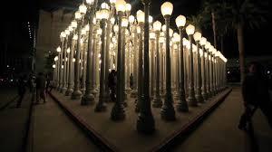 Chris Burden Urban Light