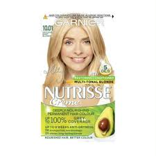 3pk garnier nutrisse hair dye 10 01