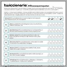 Gustar Twiccionario 5cosasquemegustan Spanish