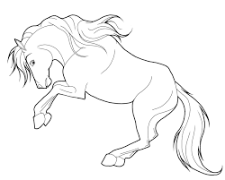 Download Animal Jam Horse Coloring Pages Getwallpapersus