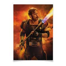 """Плакат A2(42x59) """"The Comedian / <b>Хранители</b> / Watchmen ..."""