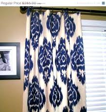 Navy Blue Patterned Curtains Best Navy Patterned Curtains Stunning Yellow And Teal Curtains Orange