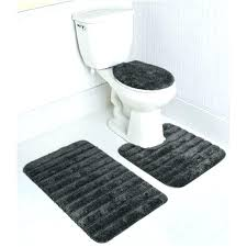 black bathroom rugs 5 piece bathroom rug sets stripe bath rug set in gray 5 piece black bathroom rug round black bath rugs