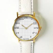 math equations in graphing paper watch vintage style by freeforme