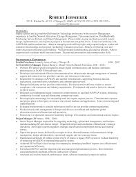 create my resume - Sample Technical Management Resume