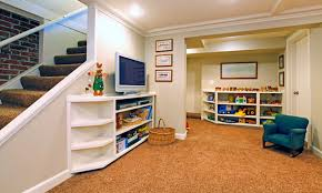 Exciting Unfinished Basement Floor Ideas Pictures Ideas ...