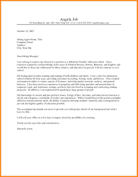 9 Teacher Cover Letter Examples Wsl Loyd