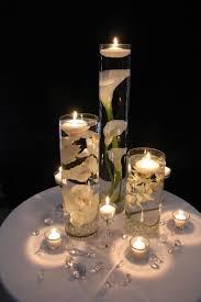 decor glass candle centerpieces for wedding decoration ideas